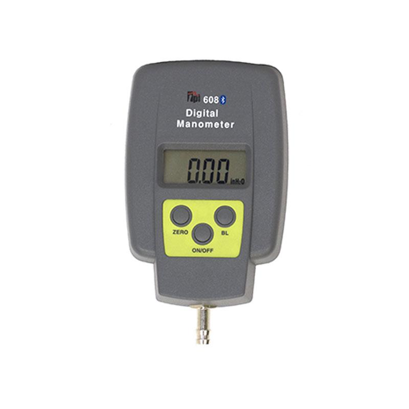 digital manometer. tpi 608bt single input manometer with bluetooth - tightness testing kits \u0026 manometers gas hvac digital