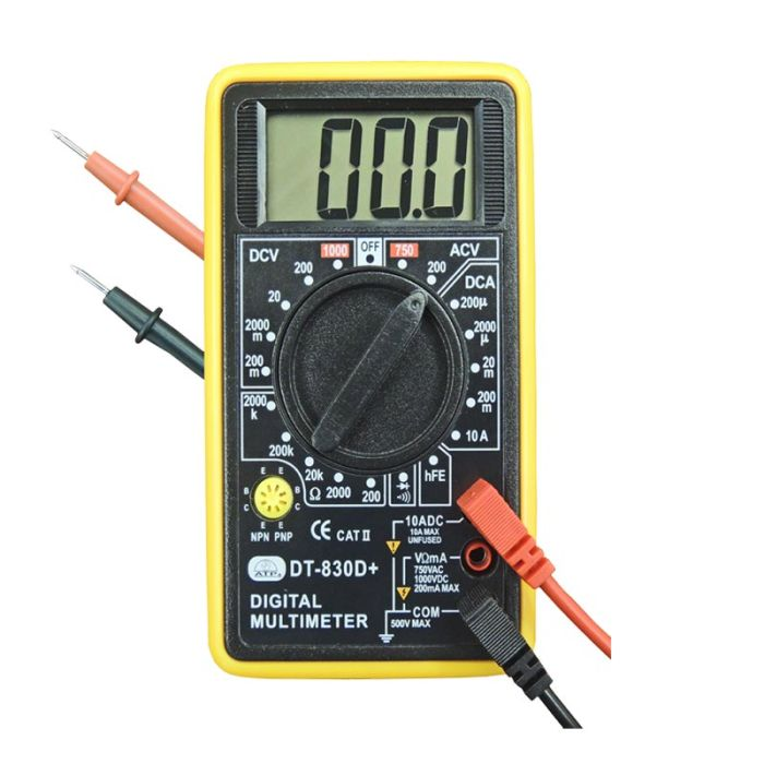 ATP DM-830D Manual Ranging Digital Multimeter