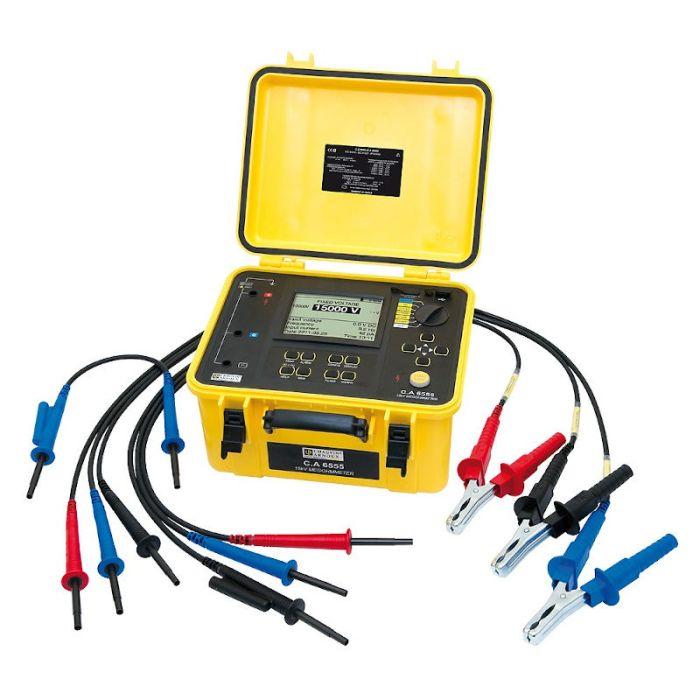 Chauvin Arnoux CA 6555 15kv Insulation Tester