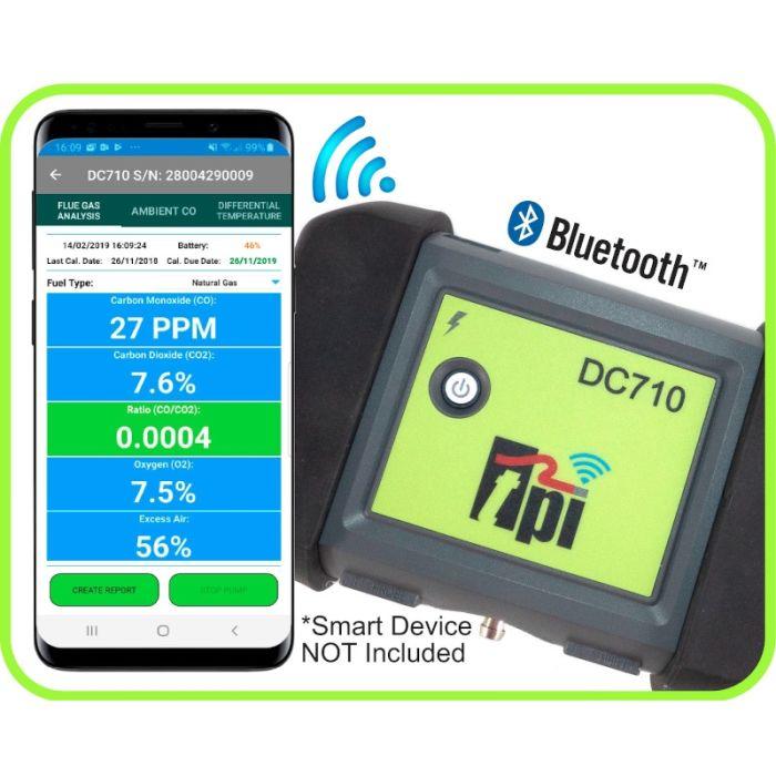 TPI DC710 Flue Gas Analyser
