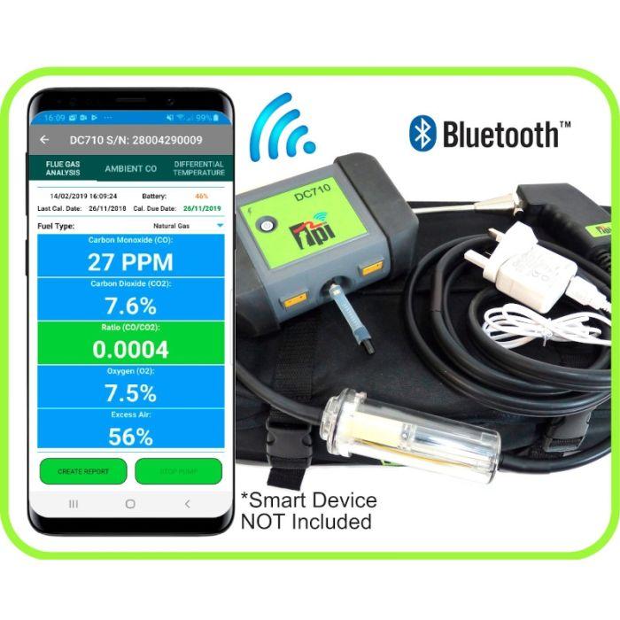 TPI DC710C1 Flue Gas Analyser Kit