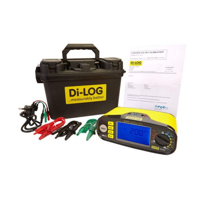 Di-Log DL9118 18th Edition Multifunction Tester