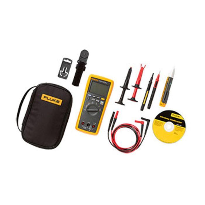 Fluke 3000FC/1AC-II Electrician's DMM Voltage Tester & Accessory Kit