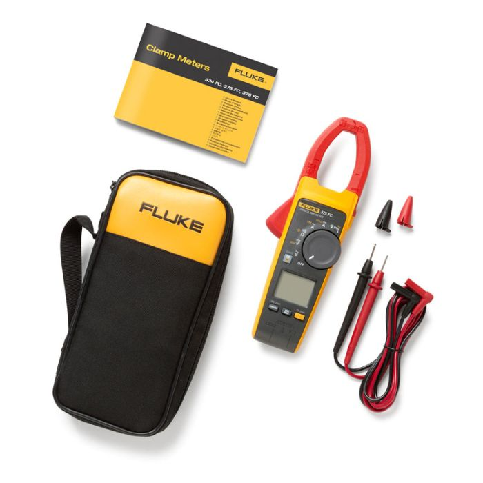 Fluke 375 FC True RMS AC/DC Clamp Meter with Fluke Connect