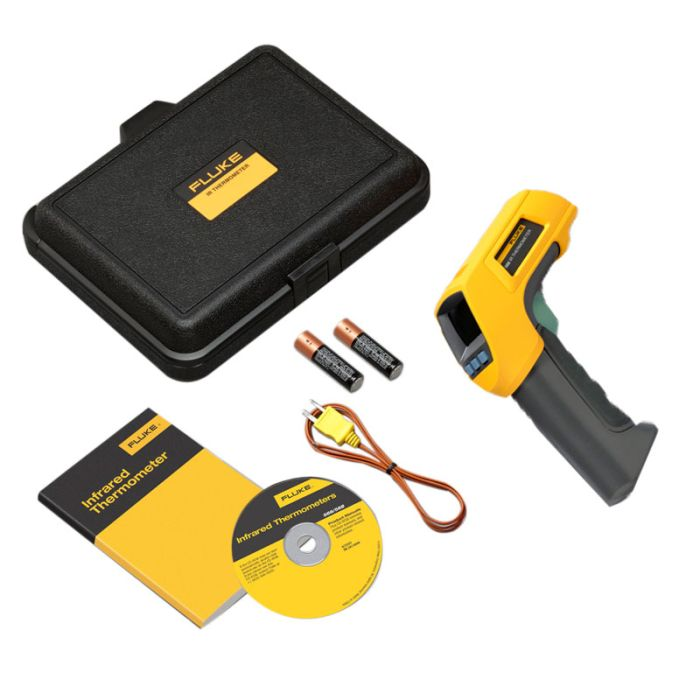 Fluke 566 Infrared and Contact Thermometer