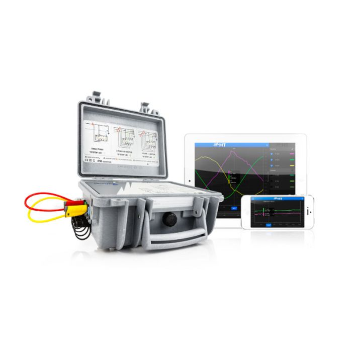 HT PQA820Ti Power Quality Analyser with Android Tablet