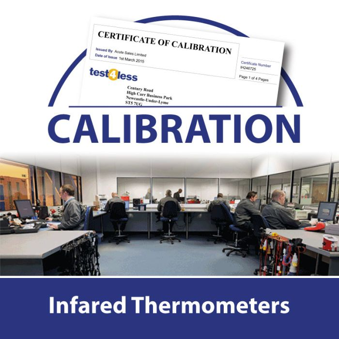 Infrared Thermometer Calibration