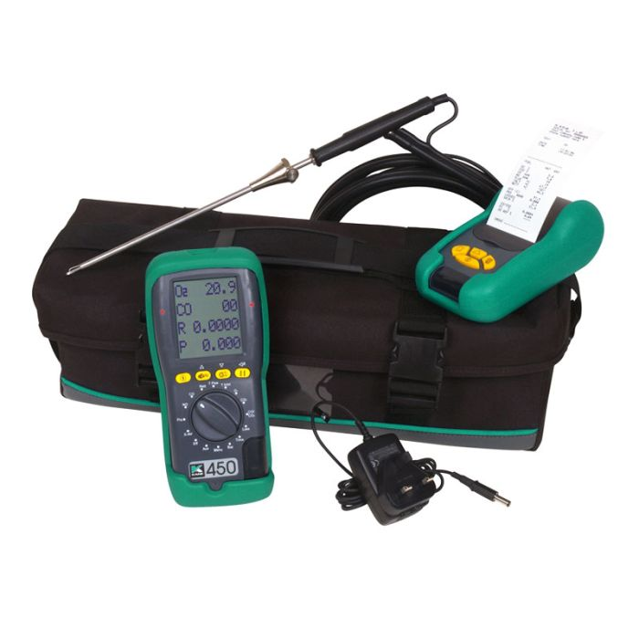 Kane 450 Commercial & Domestic Boiler Analyser Kit