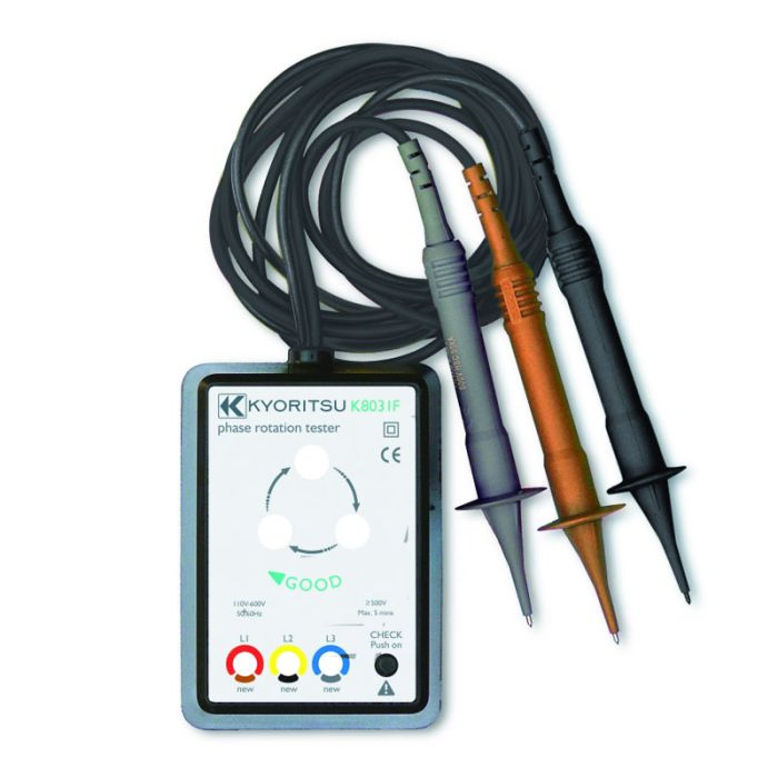 Kewtech KEW8031F Phase Rotation Tester
