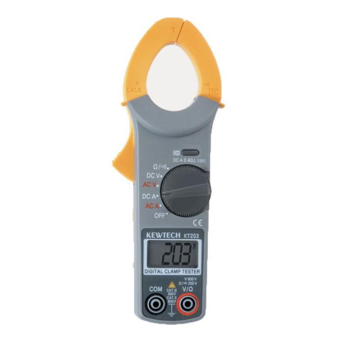 Kewtech KT203 Digital AC/DC Clamp Meter