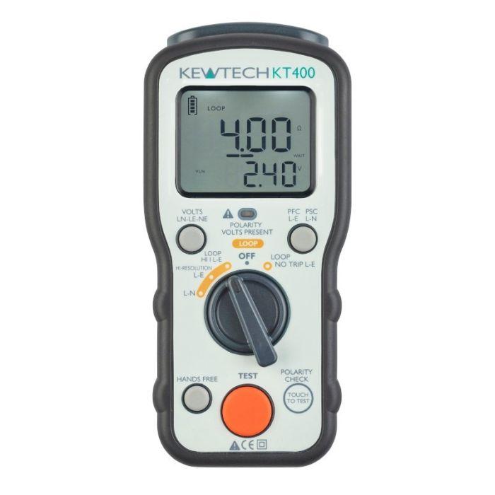 Kewtech KT400 Loop impedance & PSC / PFC tester