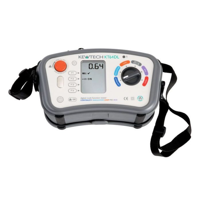 Kewtech KT64DL 18th Edition Multifunction Tester
