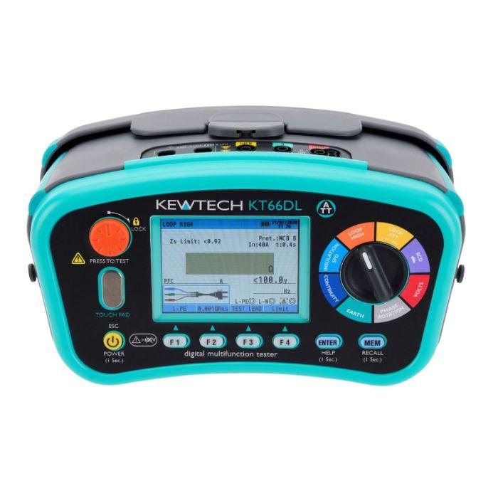 Kewtech KT66DL Multifunction Tester