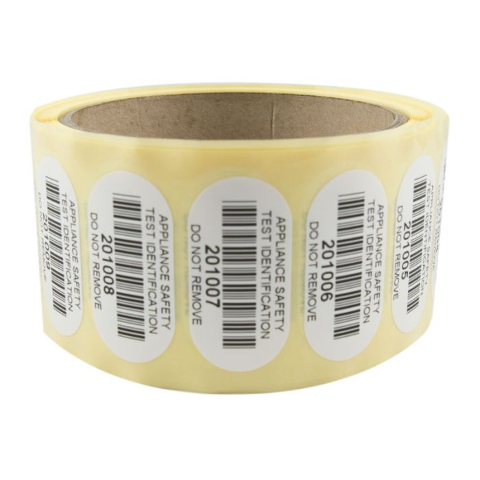 Labels - Quality Barcode -  (Reels of 500)