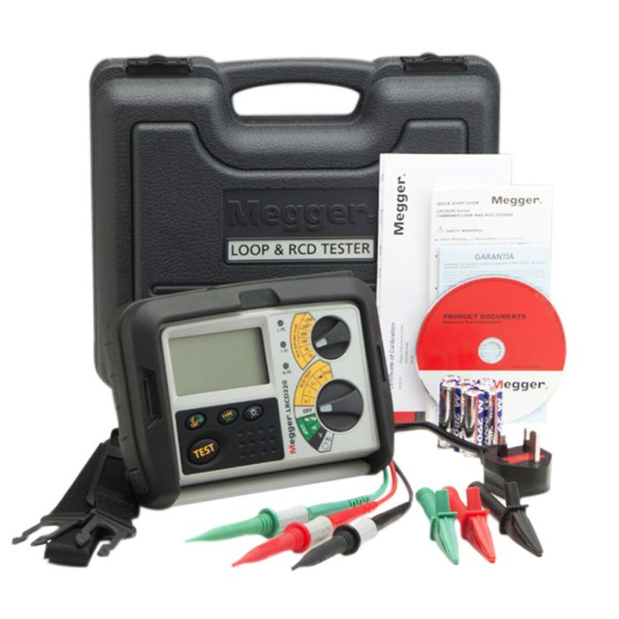 Megger LRCD220 Combined Loop/RCD Tester