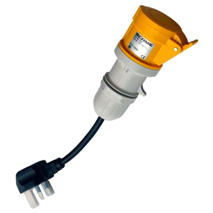 Scame 110V Adaptor (270A076) for Seaward PAT Testers