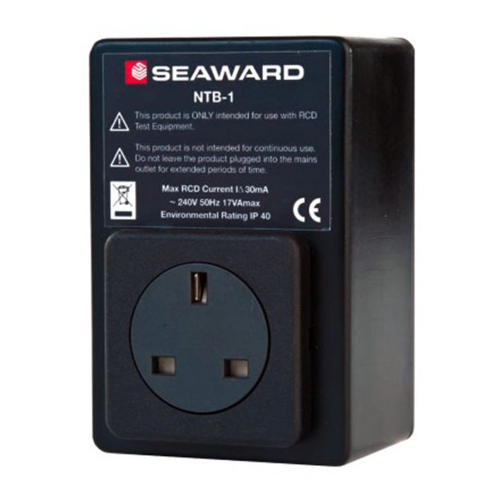 Seaward 372A953 NTB-1 Compact and Portable RCD Isolator