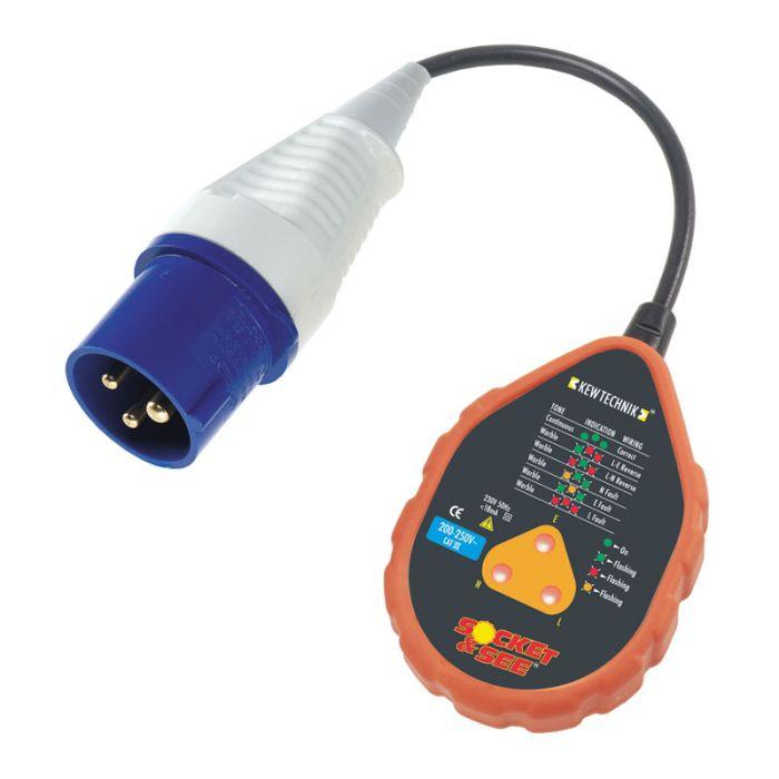 Socket & See SOK40/16HD 230V Industrial Socket Tester
