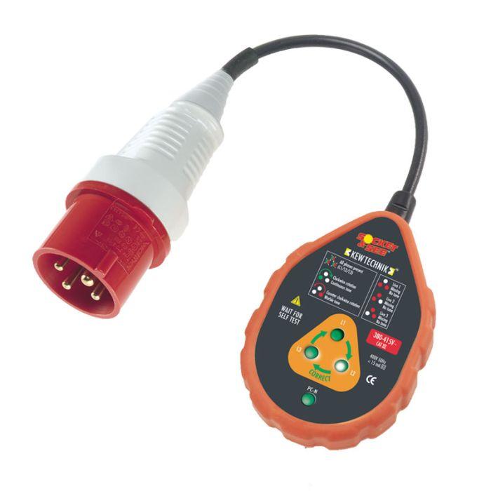 Socket & See SOK60/16HD 400V Industrial Socket Tester