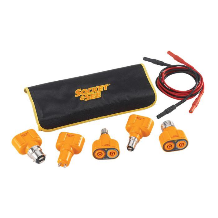 Socket & See LTKIT10 Lamp Test Adaptor Kit