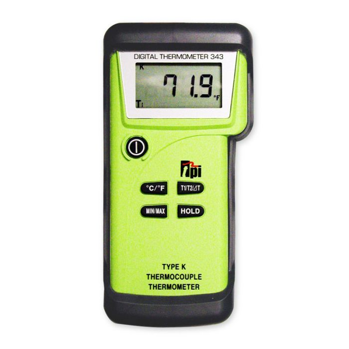 TPI 343 Differential K-Type Thermometer