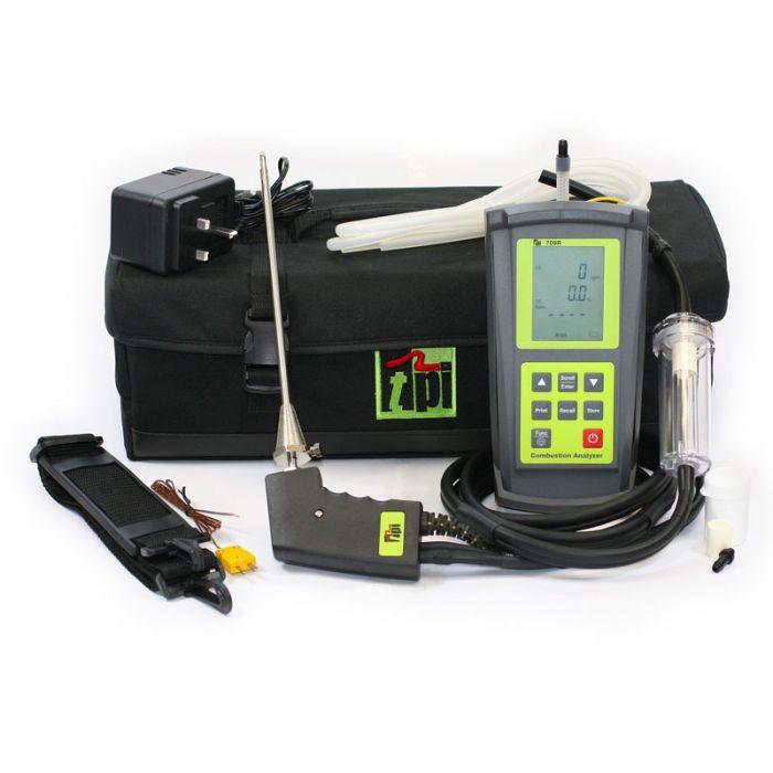 TPI 709R Flue Gas Analyser Standard Kit