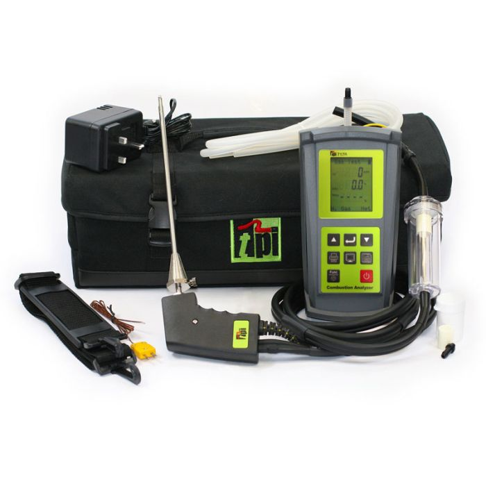 TPI 717R Flue Gas Analyser Standard Kit