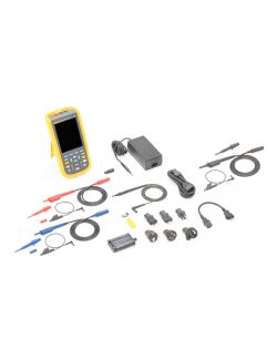 Fluke 124B UK Industrial ScopeMeter Hand Held Oscilloscope (40 MHz)