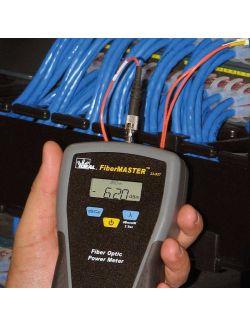 Ideal 33-928 FiberMaster Optic Power Meter with 850NM Light Source