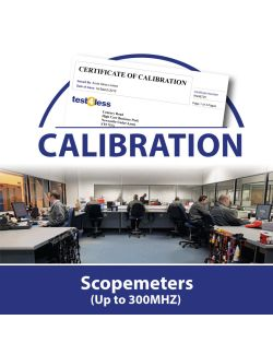 Scopemeter Calibration (Up to 300MHZ)