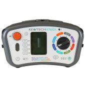 Kewtech KT65DL Digital 8-in-1 17th Edition Multifunction Tester