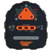 Socket & See SOK34 Easy Socket and Earth Loop Tester